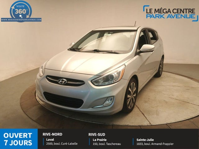 2015 Hyundai Accent GLS 4-Door Hatchback FWD