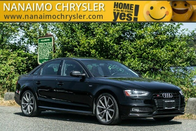 2015 Audi S4 3.0T quattro Technik Sedan AWD