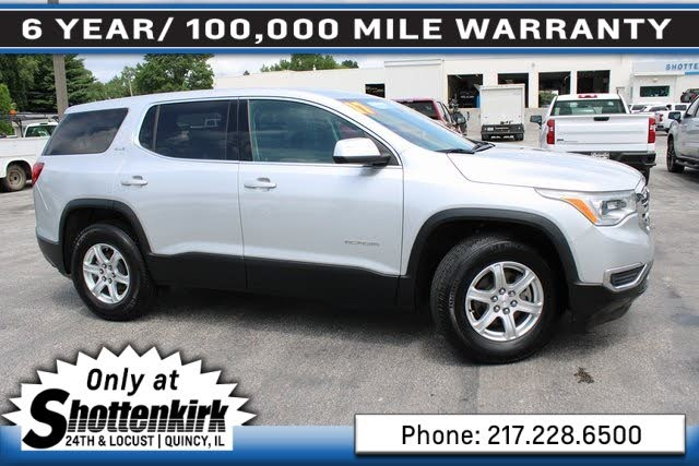 Used Gmc Acadia For Sale In Quincy Il Cargurus