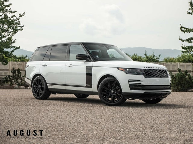 2020 Land Rover Range Rover Supercharged V8 LWB 4WD