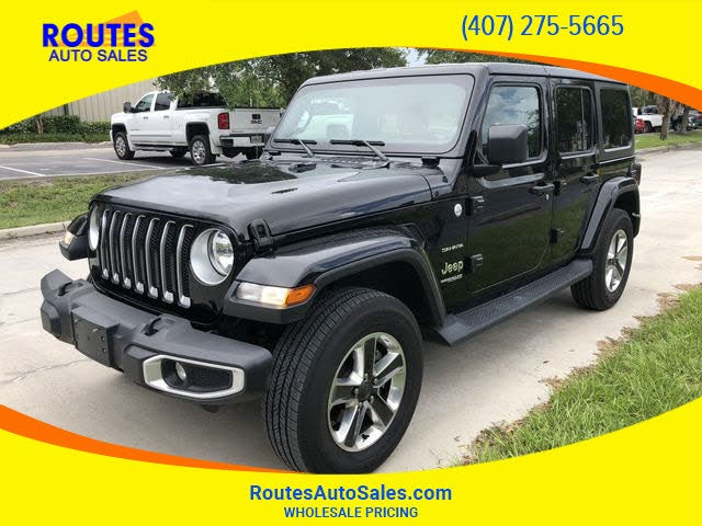 2019 Jeep Wrangler Unlimited Sahara 4WD