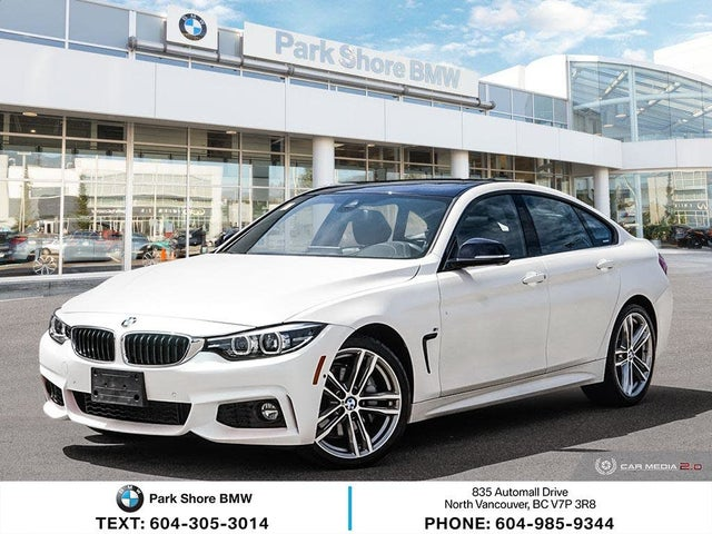 2018 BMW 4 Series 440i xDrive Gran Coupe AWD