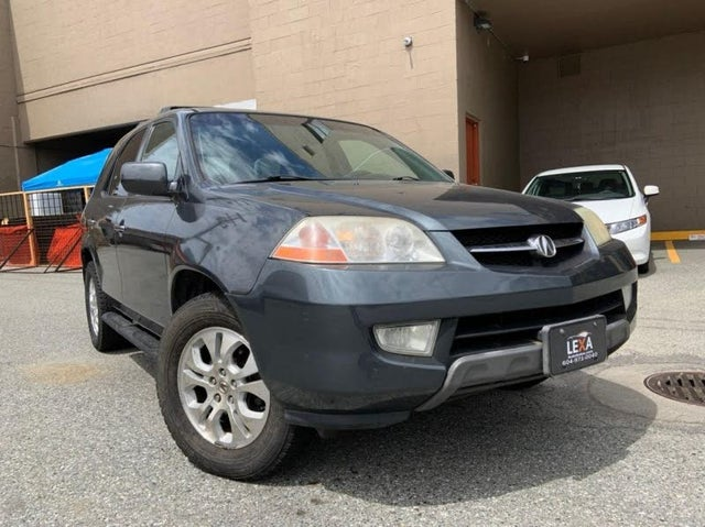 2003 Acura MDX AWD with Touring Package, Navigation, and Entertainment System