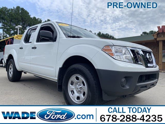 2017 Nissan Frontier S Crew Cab 4WD