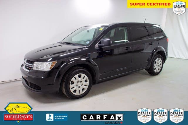 2018 Dodge Journey Canada Value Package FWD