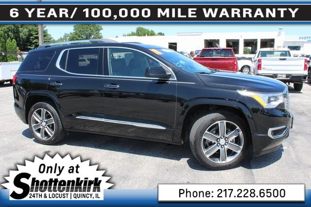 Used Gmc Acadia For Sale In Springfield Il Cargurus