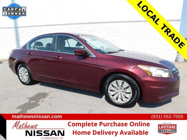 2012 Honda Accord For Sale In Nashville Tn Cargurus