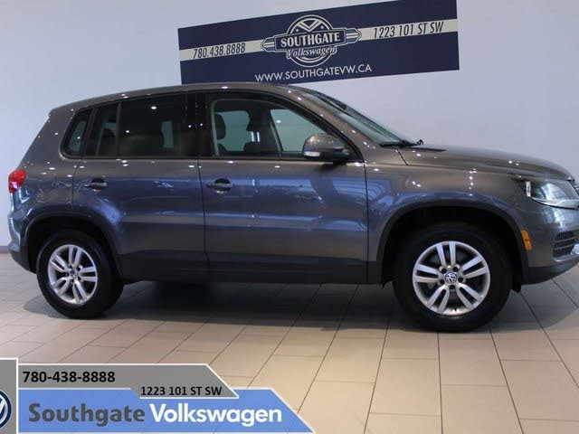 2012 Volkswagen Tiguan S with Sunroof