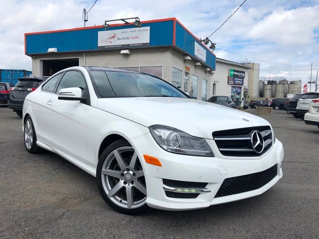 2014 Mercedes-Benz C-Class C 350 4MATIC Coupe