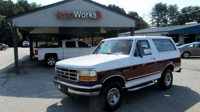 1993 Ford Bronco XLT 4WD