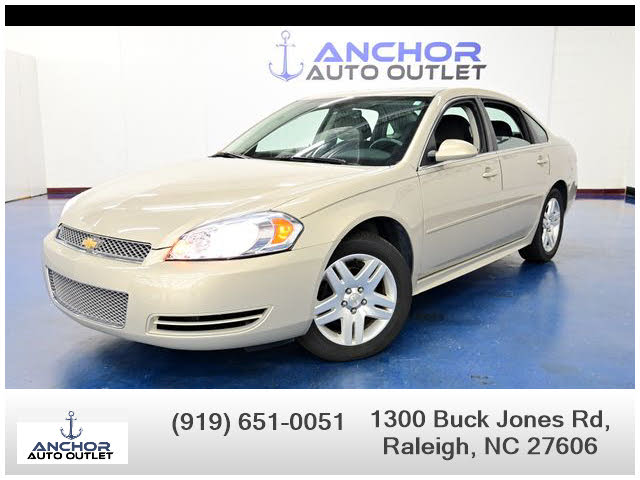 Used Chevrolet Impala For Sale In Raleigh Nc Cargurus