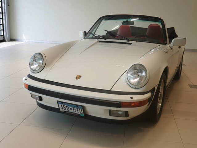 Used 1987 Porsche 911 Carrera Cabriolet For Sale With Photos Cargurus