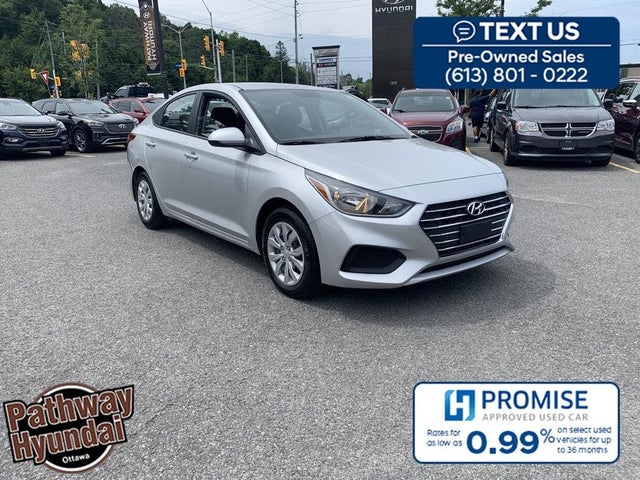 2019 Hyundai Accent Preferred Sedan FWD
