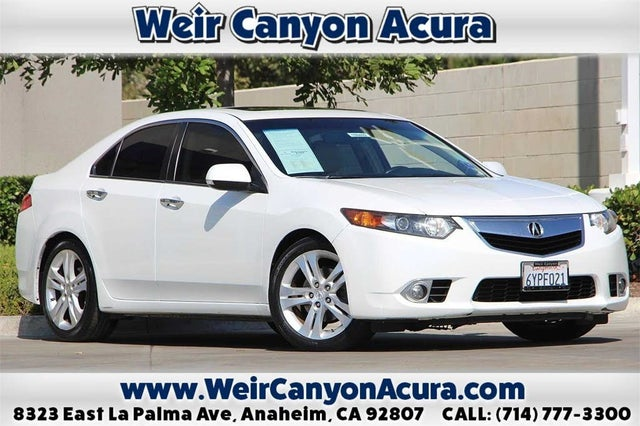 2013 Acura TSX V6 Sedan FWD with Technology Package