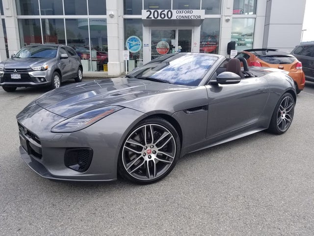 2018 Jaguar F-TYPE R-Dynamic Convertible AWD