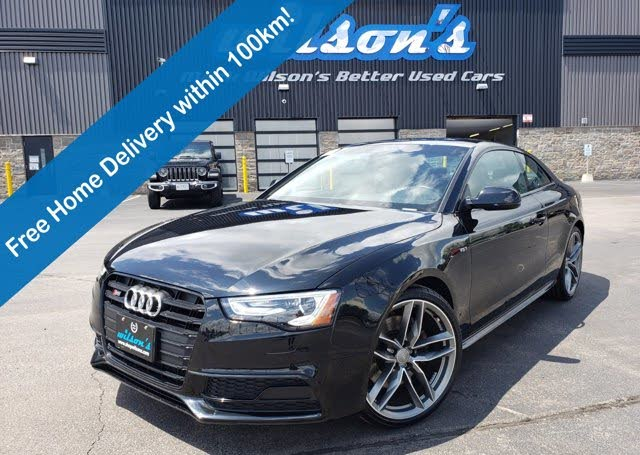 2017 Audi S5 3.0T quattro Dynamic Edition Coupe AWD