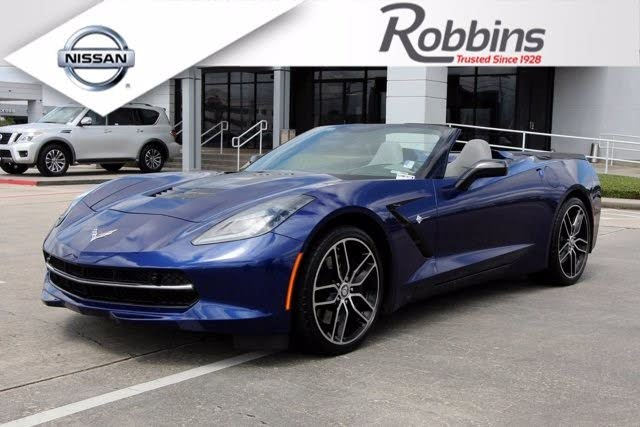 2018 Chevrolet Corvette Stingray Z51 2LT Convertible RWD