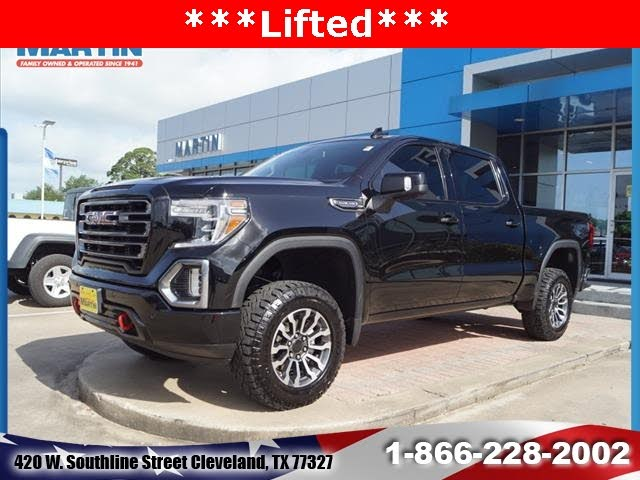 Used 2019 Gmc Sierra 1500 At4 For Sale In Houston Tx Cargurus