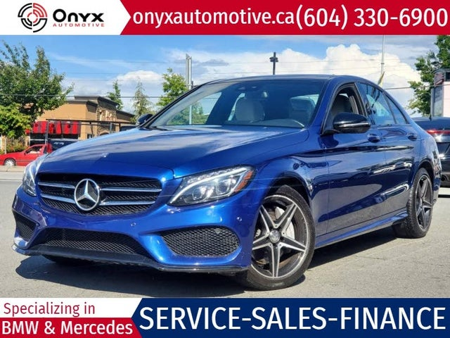 2017 Mercedes-Benz C-Class C 300 Luxury 4MATIC