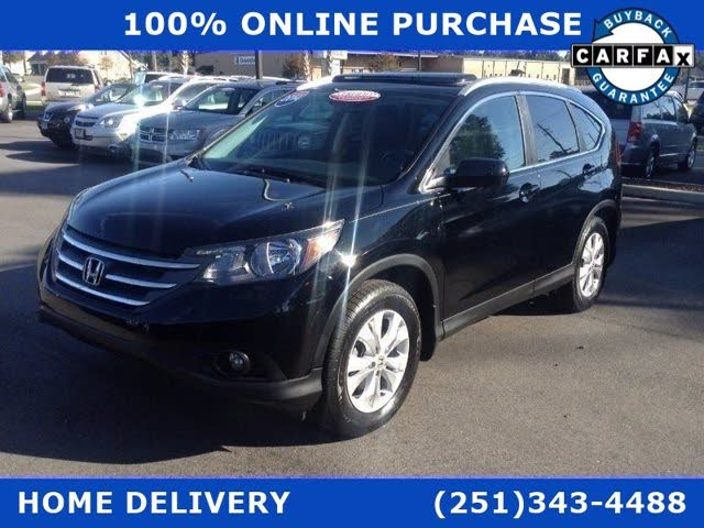 2014 Honda CR-V EX-L AWD with Navigation