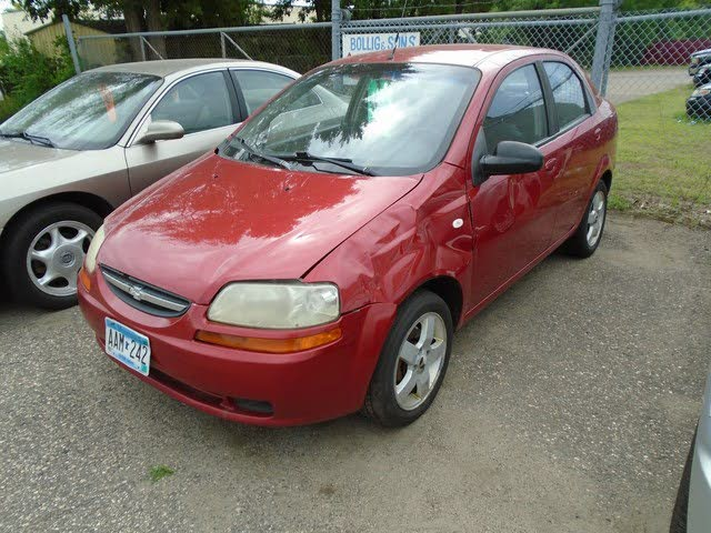 2006 Chevrolet Aveo LT Sedan FWD