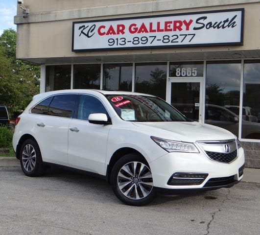 2016 Acura MDX SH-AWD With Technology Package For Sale In
