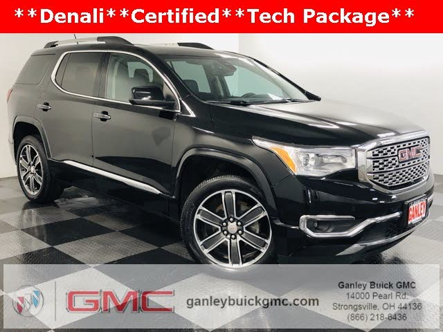 Used Gmc Acadia For Sale In Cleveland Oh Cargurus