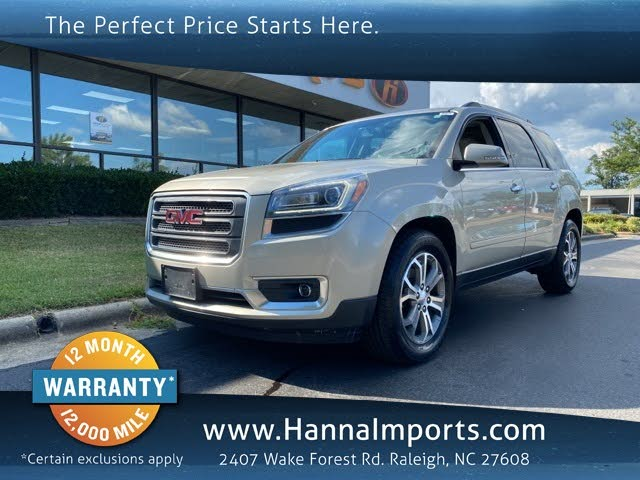 Used Gmc Acadia For Sale In Fayetteville Nc Cargurus