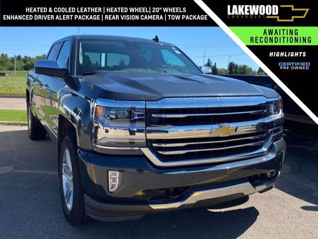 2018 Chevrolet Silverado 1500 High Country Crew Cab 4WD