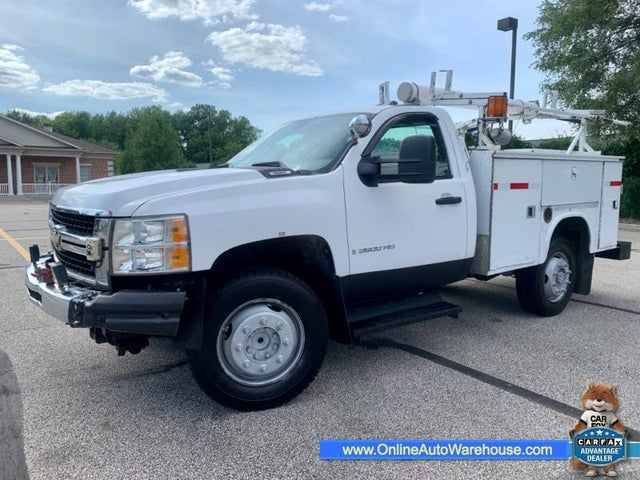 2009 Chevrolet Silverado 3500HD Work Truck LB RWD with ZW9 Box Delete