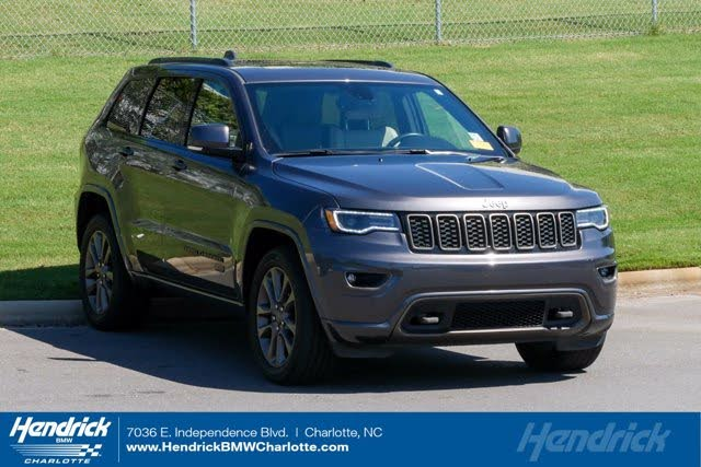 Used 2017 Jeep Grand Cherokee Limited 75th Anniversary 4wd For