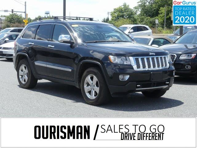 2013 Jeep Grand Cherokee Overland Summit 4WD