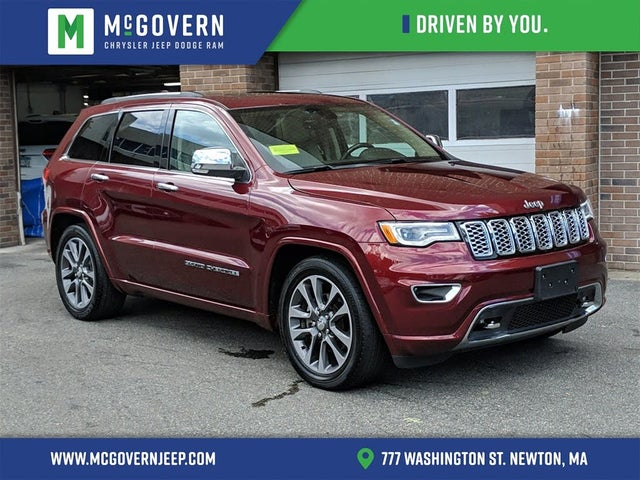 2017 Jeep Grand Cherokee Overland 4wd For Sale In Boston Ma