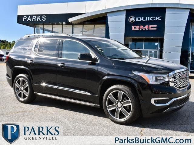 Used Gmc Acadia For Sale In Greenville Sc Cargurus