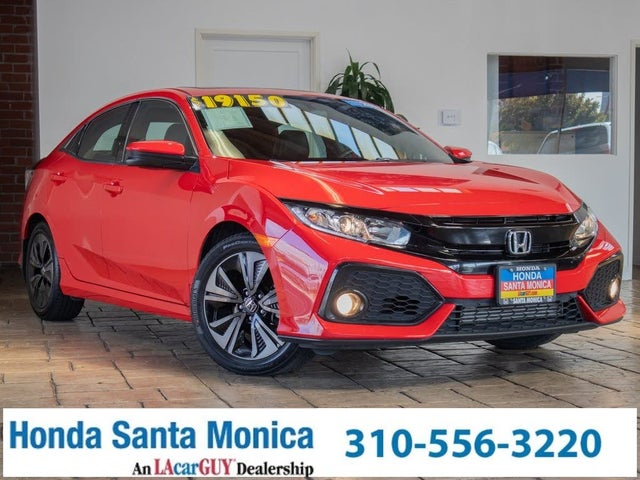 2017 Honda Civic Hatchback EX-L with Nav