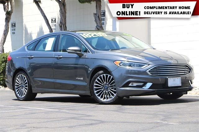 Used 2017 Ford Fusion Hybrid Titanium Fwd For Sale With Photos