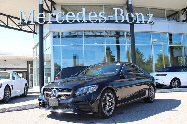 2020 Mercedes-Benz C-Class C 300 4MATIC Coupe AWD