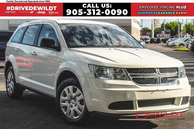 2019 Dodge Journey SE Value Package FWD