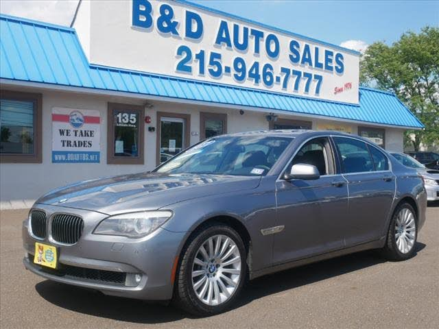 2012 BMW 7 Series 750i xDrive AWD