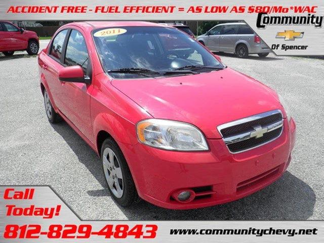 2011 Chevrolet Aveo 2LT Sedan FWD