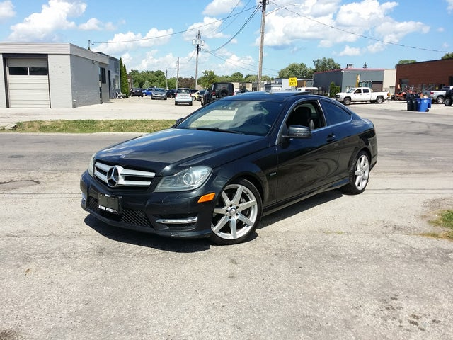 2012 Mercedes-Benz C-Class C 350 Coupe 4MATIC