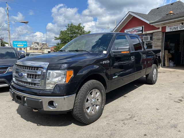 2014 Ford F-150 XLT SuperCrew LB 4WD