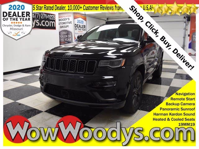 Used 2019 Jeep Grand Cherokee High Altitude 4wd For Sale With