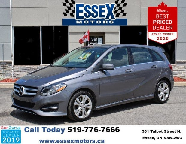 2016 Mercedes-Benz B-Class B 250 Sports Tourer AWD