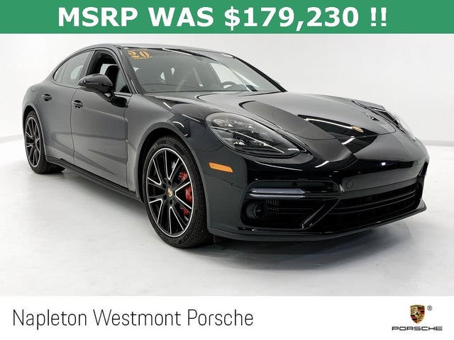 Used 2020 Porsche Panamera Turbo Awd For Sale With Photos Cargurus