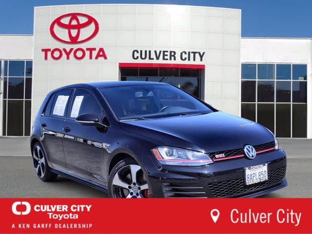 2016 Volkswagen GTI 2.0T S 4-Door FWD with Performance Package