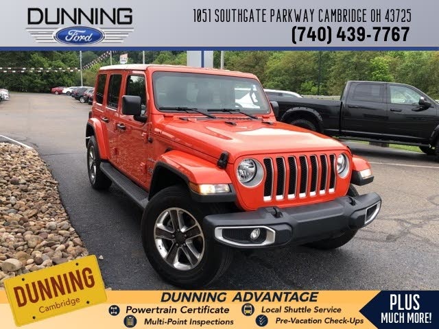 Used Jeep Wrangler Unlimited For Sale In Youngstown Oh Cargurus