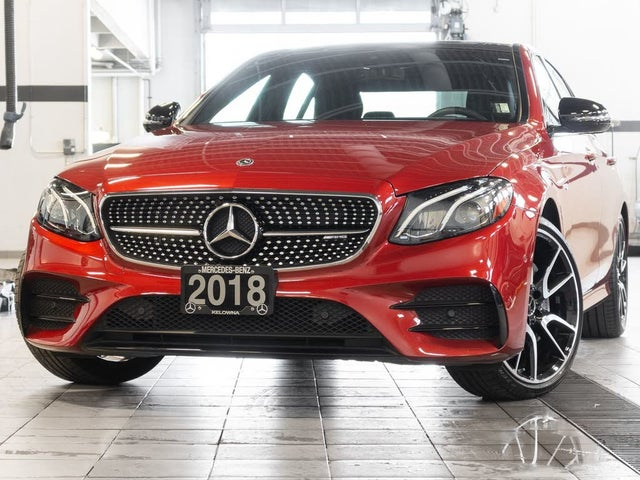 2018 Mercedes-Benz E-Class E AMG 43 4MATIC Sedan AWD
