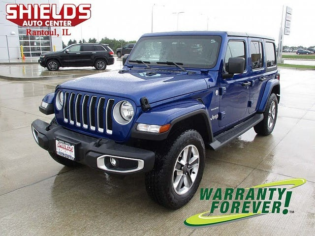 Used Jeep Wrangler Unlimited For Sale In Champaign Il Cargurus