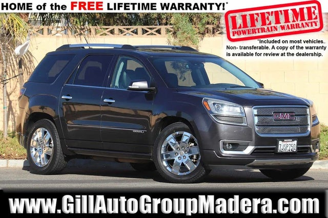 Used Gmc Acadia For Sale In Visalia Ca Cargurus